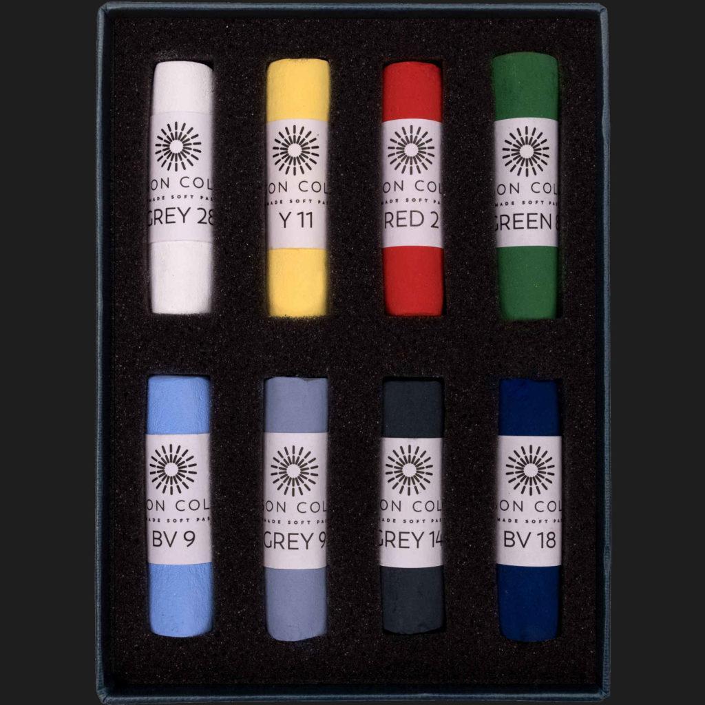 Unison Soft Pastel Set - Starter Set of 8 Pastels