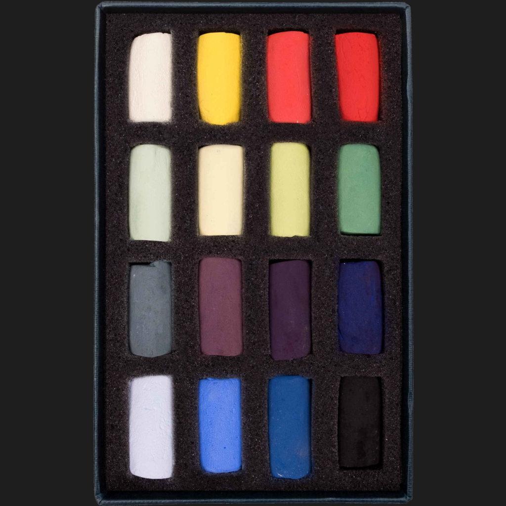 Unison Soft Pastel Set - Starter Set of 16 Half Pastels