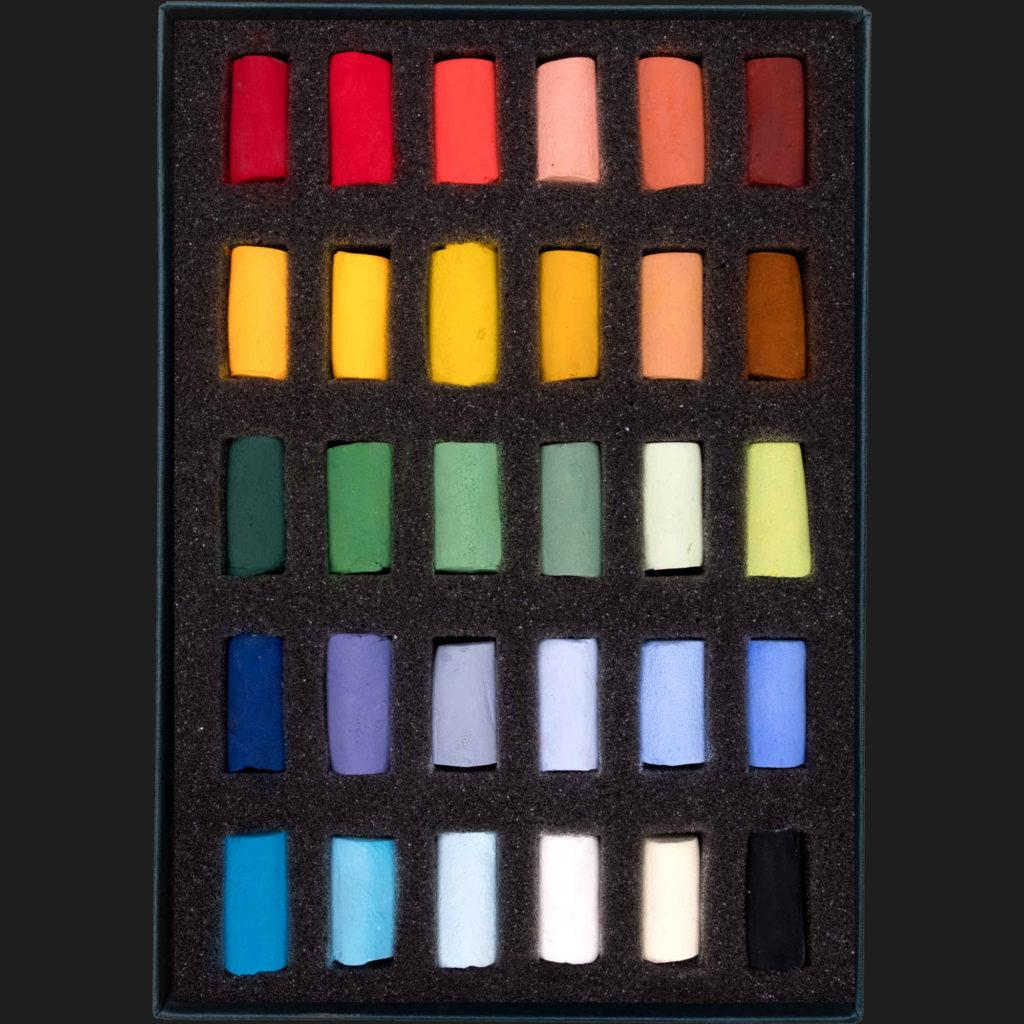 Unison Soft Pastel Set - Starter Set of 30 Half Pastels