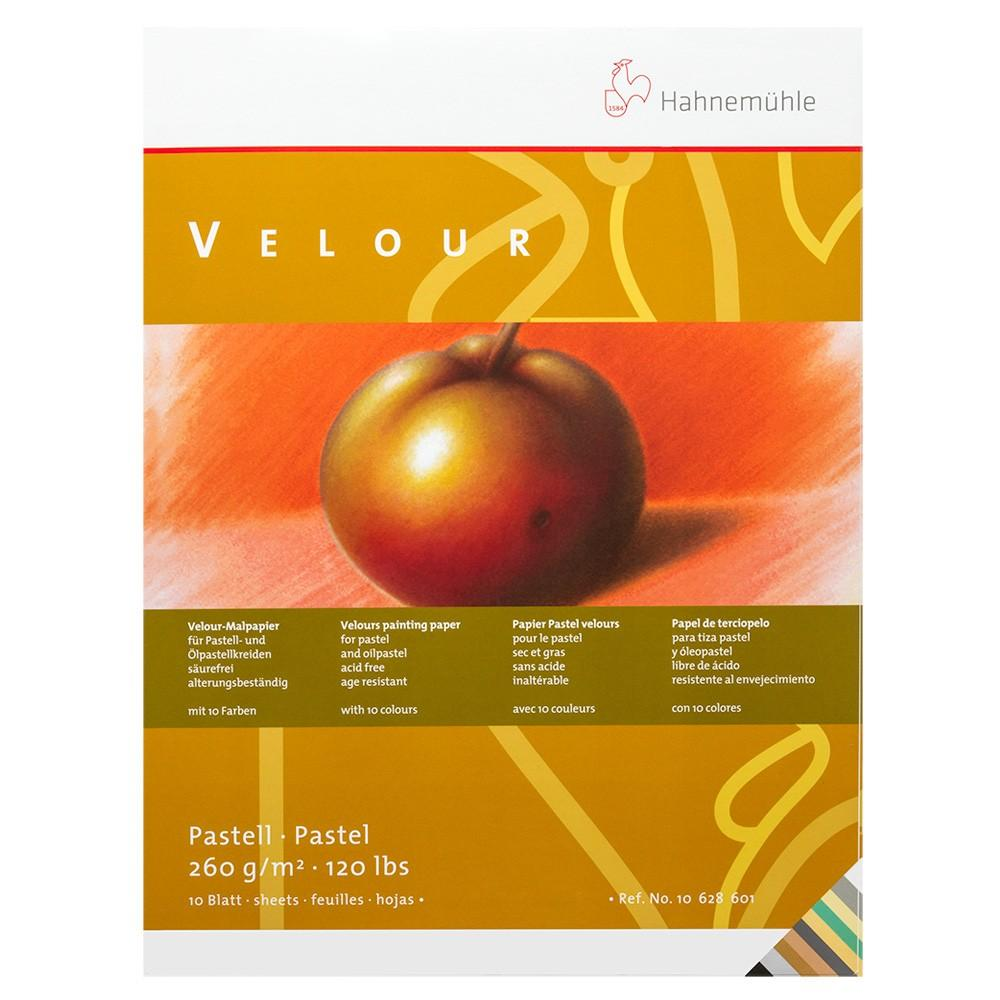 Hahnemuhle Velour Pastel Pad  36 x 48cm Assorted Colours