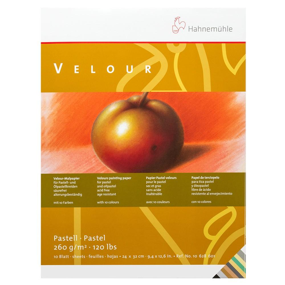 Hahnemuhle Velour Pastel Pad - 24 x 32cm Assorted Colours